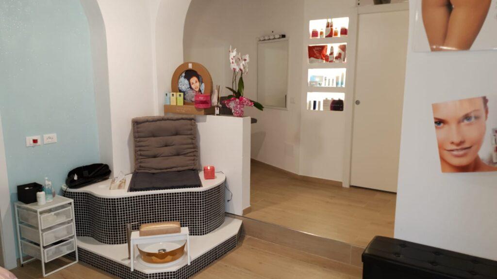 progetto centro estetico beauty center design